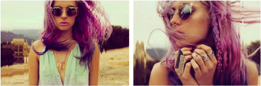 Radiant Orchid > Purple Hair > Chloe Norgaard